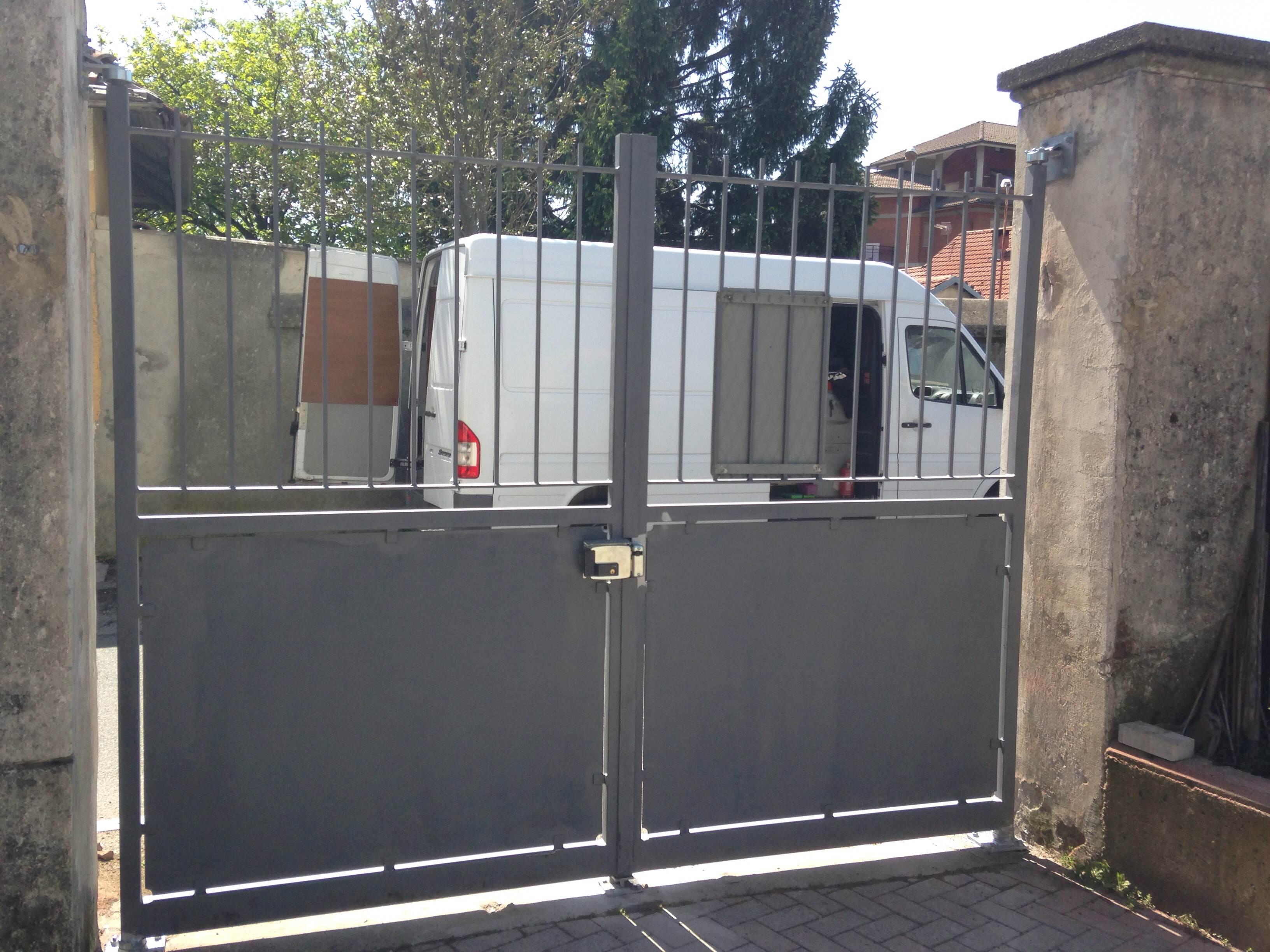 Cancello A Due Ante Battenti.Cancelli E Cancelletti Carpenteria Setten